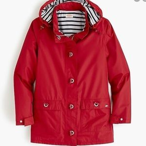 Armor Lux for J. Crew red toggle coat jacket 44